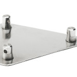 "F33BASE Cosmic Truss 12"" aluminum base plate for F33 with 3 half conical"