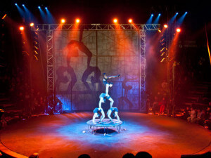 Germany's most unusual Circus, Flic Flac, relies on GLP´s LED fixtures