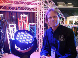 German Light Products South America  Sales Manager Peter Hald