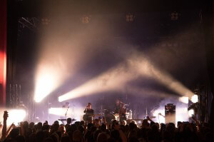 Naked and Famous - Shepherd's Bush Empire 2nd July 2014