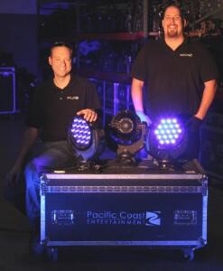 PCE's Ryan Steidinger (l) and John Koukios