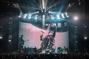 Lenny Kravitz Strut with GLP impression Fixtures