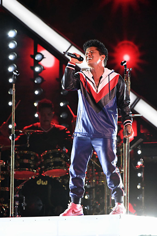 GLP Bruno Mars at Grammys  W