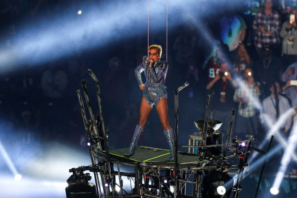 GLP GT  at the Super Bowl Halftime Show