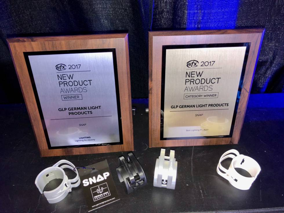 SNAP Wins WFX New Product Award