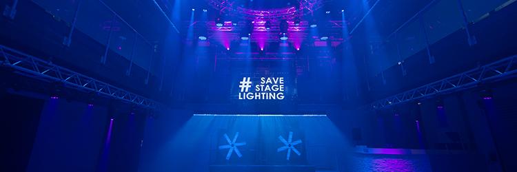 Save stage lighting