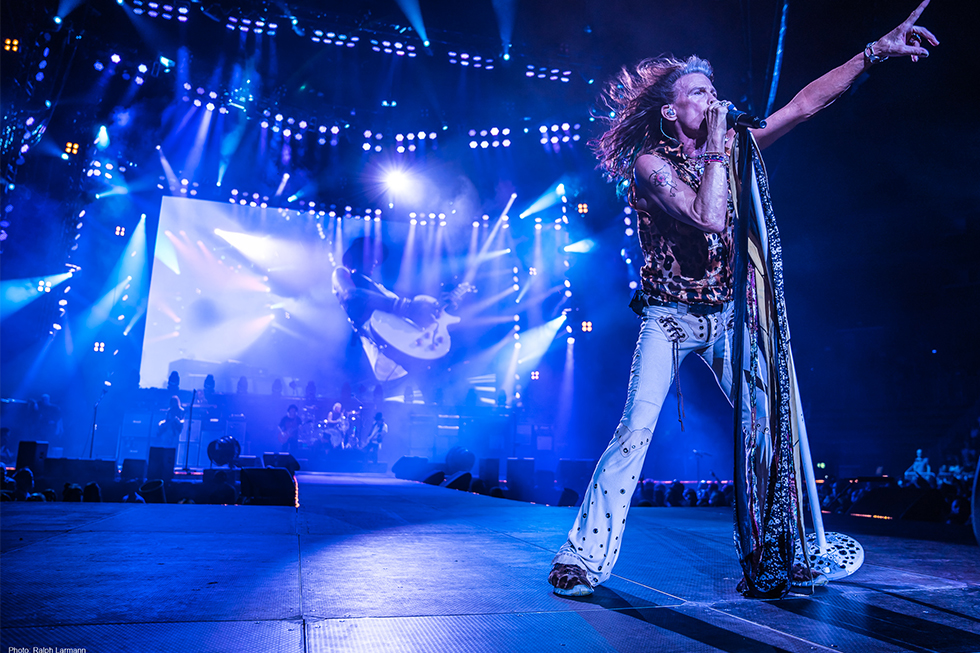 Aerosmith, LD Cosmo Wilson, 2017, Photo: Ralph Larmann