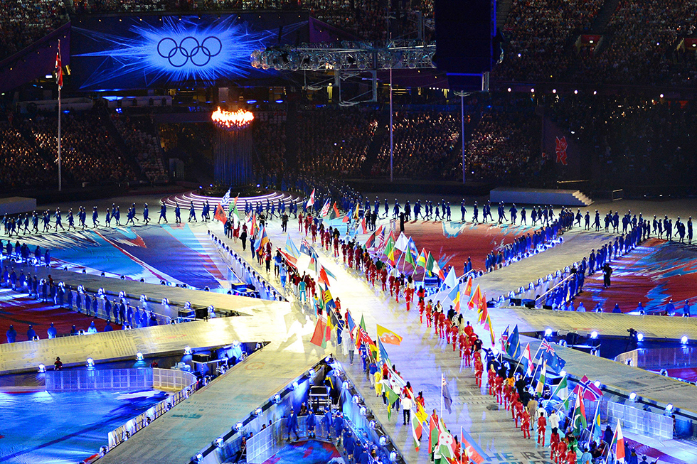 London Olympics, LD Woodroffe Basset Design, 2012