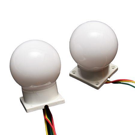 60mm Sphere, Surface Mount, Marquee, LED, scenex, lighting, glp