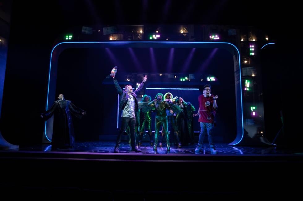 Be More Chill Broadway 2019 Photo credit Maria Baranova 8