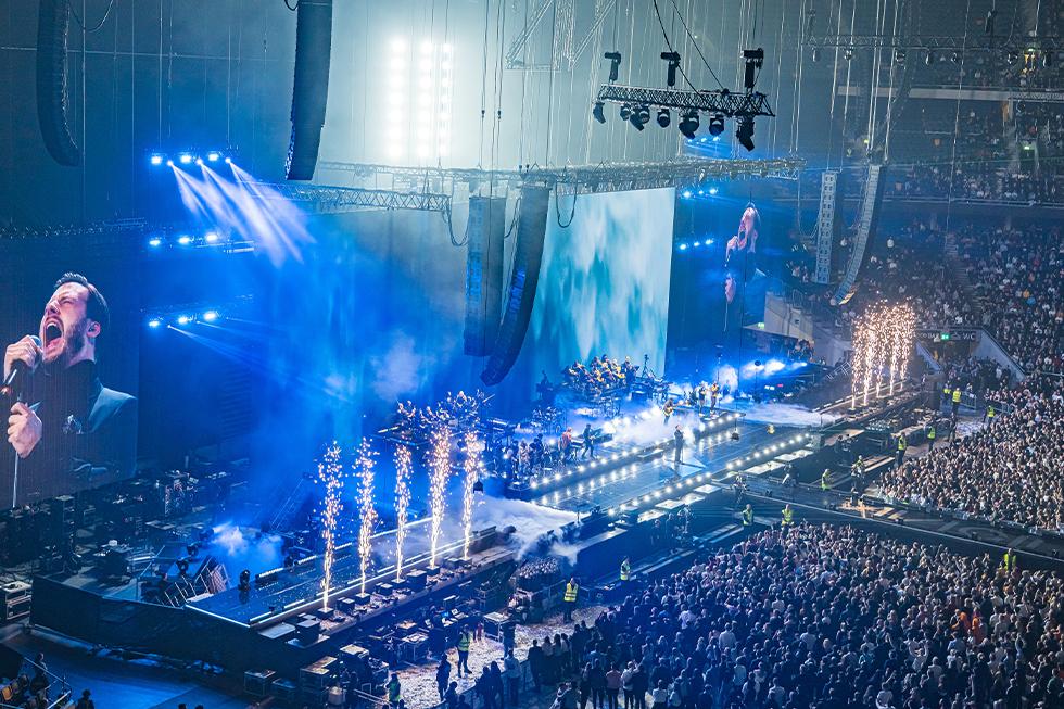 Avicii Tribute Concert, LD Paul Normandale, 2020, Photo Ralph Larmann