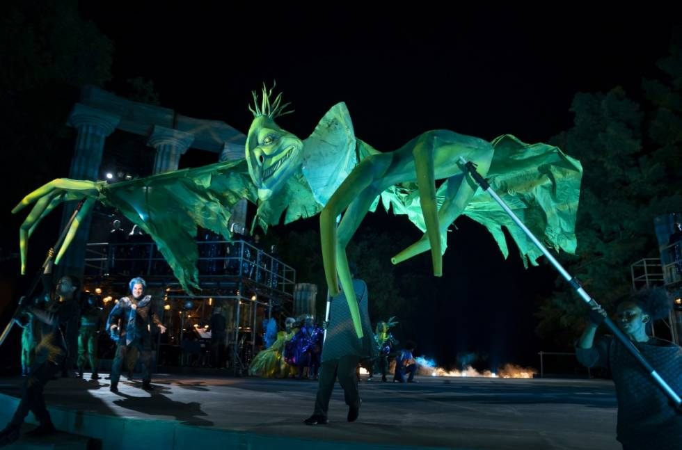 FUSION by GLP lights Hercules in Central Park