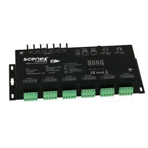 scenex, led, dmx driver, 24 channel