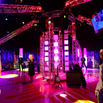 scenex, lighting, madame tussauds, glp